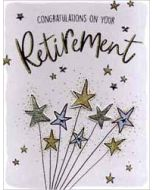 grote pensioen felicitatiekaart A4 - congratulations on your retirement