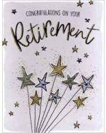 grote pensioen felicitatiekaart A4 - congratulations on your retirement