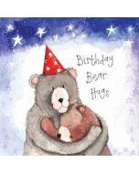 wenskaart alex clark - birthday bear hugs - beren