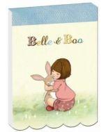 tekenblokje notitieboekje - belle en boo