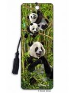 3D lenticulaire boekenlegger - panda
