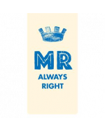 Magnetische boekenlegger: mr always right