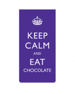 Magnetische boekenlegger: Keep calm and eat chocolate