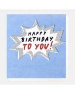 wenskaart caroline gardner - happy birthday to you