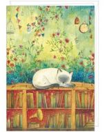 grote kaart A4 - jehanne weyman - slapende kat