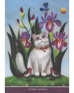 8 ansichtkaarten gwenaëlle trollez - katten van marie amalia