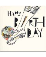 verjaardagskaart woodmansterne - happy birthday - voetbal