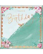 verjaardagskaart - happy birthday - strikje