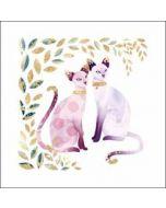 wenskaart elixir - katten