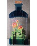 message in a bottle - 3d art kaart - libelles