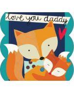 vaderdagkaart caroline gardner - love you daddy