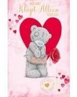 wenskaart me to you - love mail - mijn hart klopt alleen voor jou