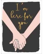 wenskaart  piano small notecards - i am here for you