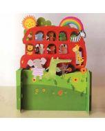 3d pop up kinderkaart - bus
