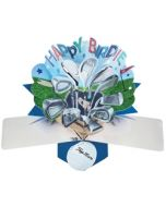 3D verjaardagskaart - pop ups - happy birdie