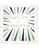 wenskaart caroline gardner - happiest of birthdays