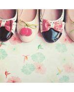 retro wenskaart busquets - damesschoenen