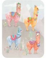 santoro eclectic cards - lama