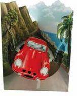3D kaart - swing cards - sportwagen