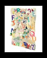 3D kaart - swing cards - alfabet in het engels
