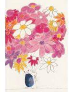 bullet journal A5 - schriftje klara de kraai - bos bloemen