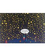 ansichtkaart met zoekopdracht - lali - zoek de vallende ster en doe een wens