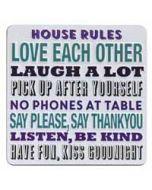 tinnen magneet - house rules