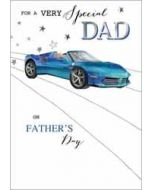 vaderdagkaart - for a very special dad - auto