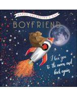 luxe valentijnskaart woodmansterne - happy valentine's day boyfriend