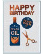 verjaardagskaart copper - happy birthday - baard olie