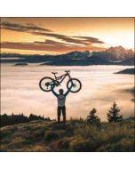 verjaardagskaart woodmansterne - fiets