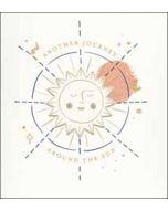 wenskaart woodmansterne - another journey around the sun - zon