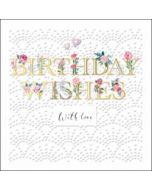 luxe verjaardagskaart woodmansterne - birthday wishes with love