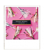 ansichtkaart instagram - I am not bossy, I am the boss