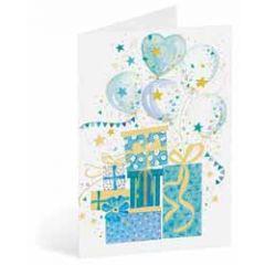 wenskaart busquets - cadeaus en ballonnen