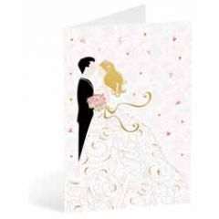 trouwkaart busquets - bruidspaar