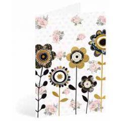 wenskaart busquets - bloemen