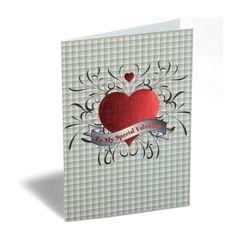 luxe valentijnskaart - to my special valentine - hart