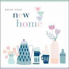 wenskaart nieuwe woning - enjoy your new home