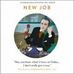 wenskaart nieuwe baan - congratulations on your new job