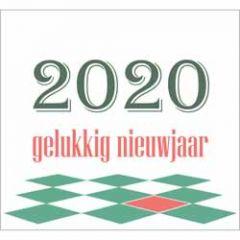10 nieuwjaarskaarten - 2020 gelukkig nieuwjaar