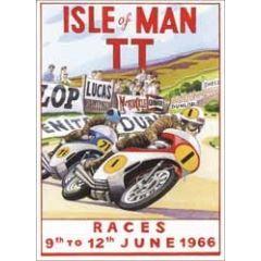 wenskaart clanna cards - isle of man tt