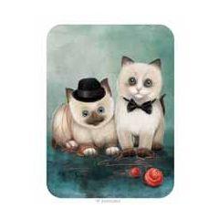 santoro eclectic cards -  katten met wol