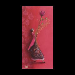 wenskaart - gaelle boissonnard - roze