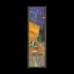 boekenlegger - vincent van gogh - caféterras bij nacht