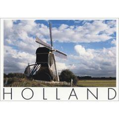 ansichtkaart  - holland molen