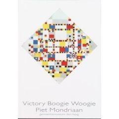ansichtkaart  - piet mondriaan - victory boogie woogie