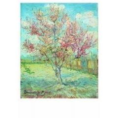 ansichtkaart  - vincent van gogh - bloeiende bomen