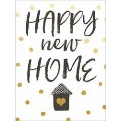 wenskaart nieuwe woning -  piano small notecards - happy new home