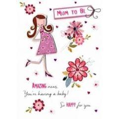 zwangerschapskaart - mum to be